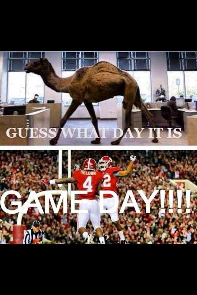 Love college game days!! Roll Tide!!