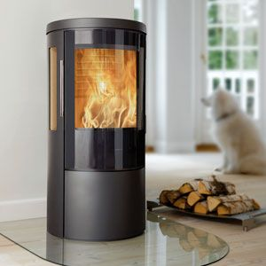 Wood Stove Decathlon Finalist: HWAM Autopilot IHS coolest wood stove EVER!