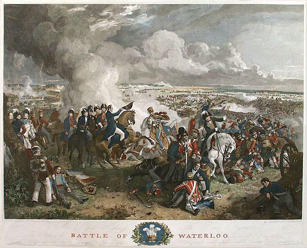 an introduction to the history of the battle of waterloo From belgium to moscow to helmland: how one battle helped shape how we  think of war  of waterloo will focus on the battle's strategic significance  in the  introduction to the sleepwalkers, his account of the causes of.