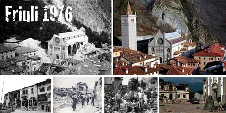 Friuli, 39° dal terremoto. L'audio della scossa e la ricostruzione video dell'Università di Udine
