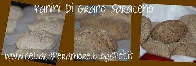 Come farsi fregare il pane da un celiaco: panini di grano saraceno