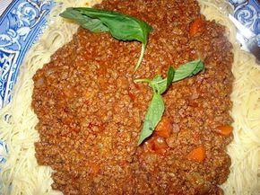 "This recipe comes from Lidia Bastianich's book called ""Lidia's Italian American Kitchen"".  Lidia is one of my favorite chefs.  I absolutely love her cookbook and have made many recipes from it.  This sauce takes at least 2 hours to cook to get the full flavor of the meat.  I cooked it for 2 1/2 hours....Read More"