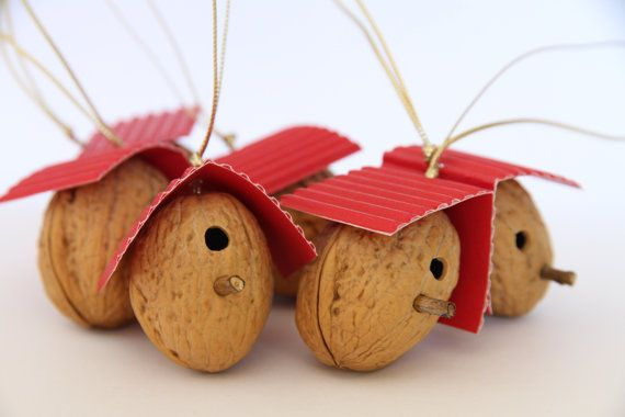 CHRISTMAS TREE ORNAMENT set of 6 Meaningful by PETITmiracles