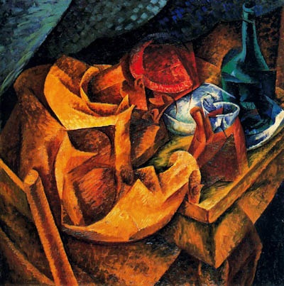 The Drinker by Umberto Boccioni