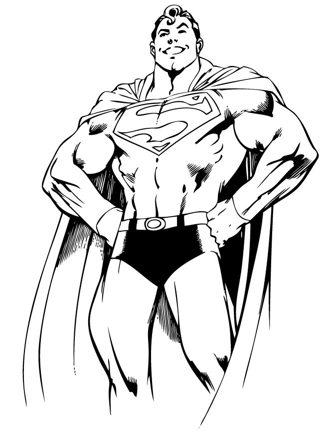 dc heroes free coloring pages - photo#33