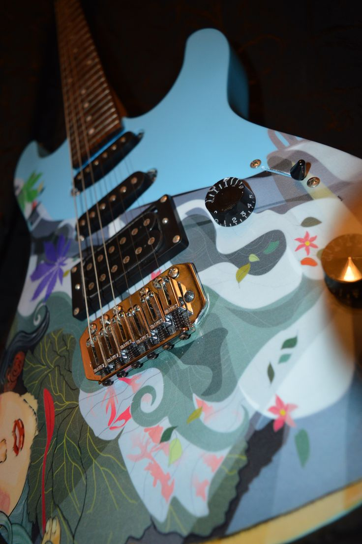 Электрогитара Milk Maple  Electric guitar Milk Maple. Exclusive design. Unique in the world) Электрогитара, гитара, панк, рок, панк-рок, металл, дизайн гитары, эксклюзив, DK, DK Guitar, рисунок на гитаре, принт на гитаре, ручная работа, Electric guitar, guitar, punk, rock, punk rock, metal, guitar design, exclusive, guitar drawing, print on guitar, handmade, Фендер, Гибсон, Стратокастер, Ибанез, Джексон, Кастом, Fender, Gibson, Stratocaster, Ibanez, Jackson, Custom, Custom Shop
