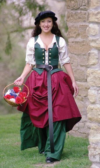 Market Wench renaissance bodice medieval wench wear
