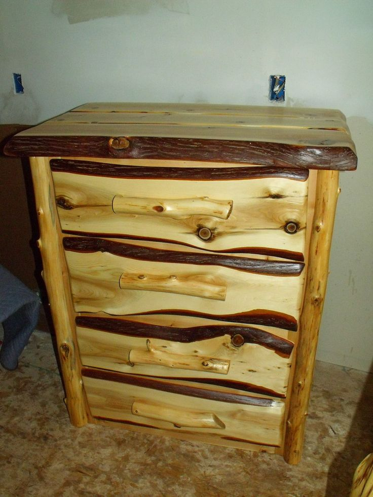Hand Crafted Cedar Dresser made in Lewiston Michigan by