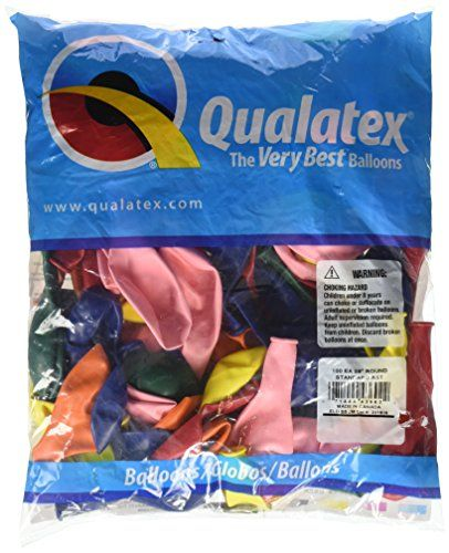 PIONEER BALLOON COMPANY Standard Opaque Assortment Latex Balloons 9 Clear >>> Want additional info? Click on the image.