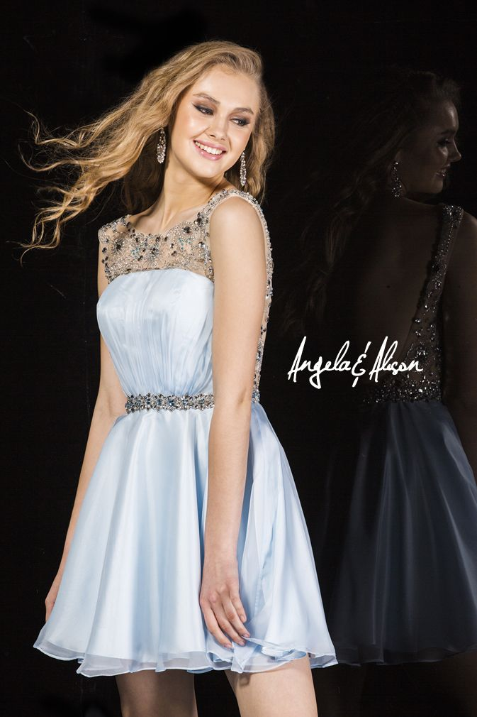 Style 42009 high sheer neckline with beaded belt. Perfect for Prom, Homecoming, Gala, Wedding, Formal, Graduation, Ball... etc.