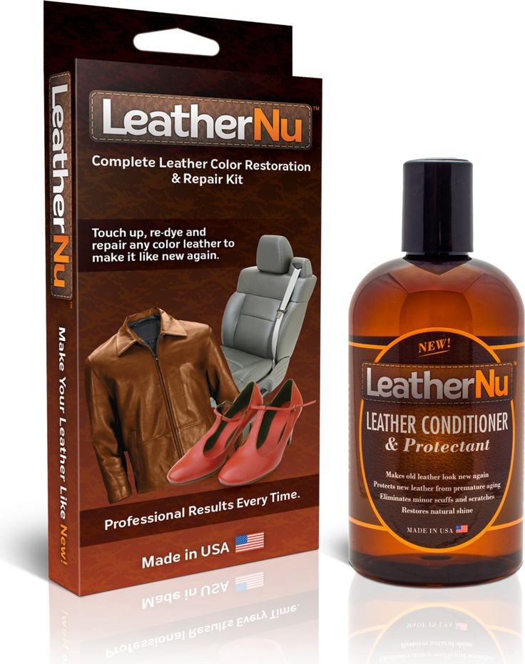 LeatherNu manufactures the highest quality leather repair kit and leather conditioner on the market. Repair your stained or damaged leather with LeatherNu.