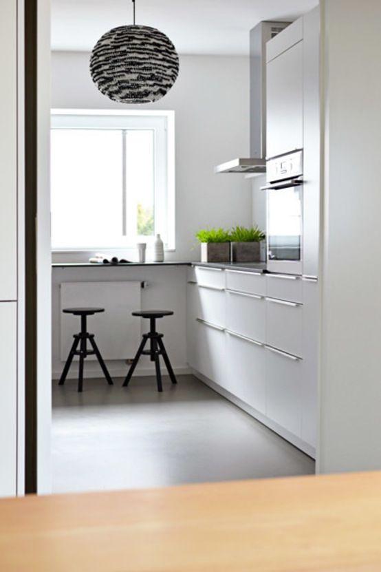 die besten 25+ minimalistische küchen ideen auf pinterest, Kuchen dekoo