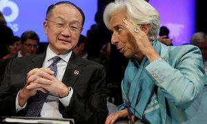 The World Bank and the IMF won't admit their policies are the problem | The IMF's remedy for Greece and Portugal during the eurozone crisis has been straight out of the structural adjustment playbook: reduce public spending, cut salaries and benefits, insist that state-owned enterprises return to the private sector, reduce minimum wages and restrict collective bargaining. Between them, the IMF and the European authorities are turning Greece into a developing country. |