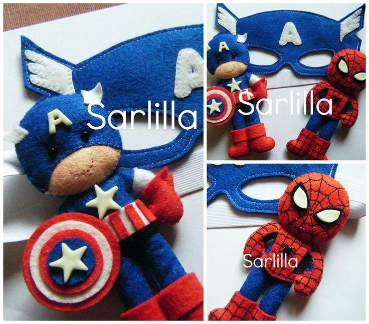 Capitan America & Spider man