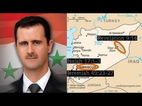 SYRIA & WW3 in End-Time Bible Prophecy! (Destruction of Damascus)  - Find the latest news about bible prophecy and how it is being fulfilled today. Find out why many say we are in the last days. Check out  Prophecy News Report at  http://www.prophecynewsreport.com/prophecy_news_report/prophesied_future_wars/world_war_iii/syria-ww3-in-end-time-bible-prophecy-destruction-of-damascus.html.