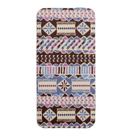 colorful ethnic style ornament pattern