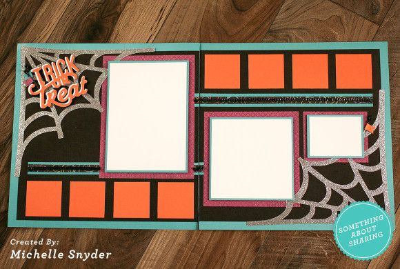 Click here for to get Halloween scrapbook workshop kits for the memory making you will be doing. CTMH Glitter Paper with the CTMH Artbooking Cricut cartridge makes it fun and easy.  http://somethingaboutsharing.com/spooky-fun-with-october-scrapbook-groups-and-workshop-kits/