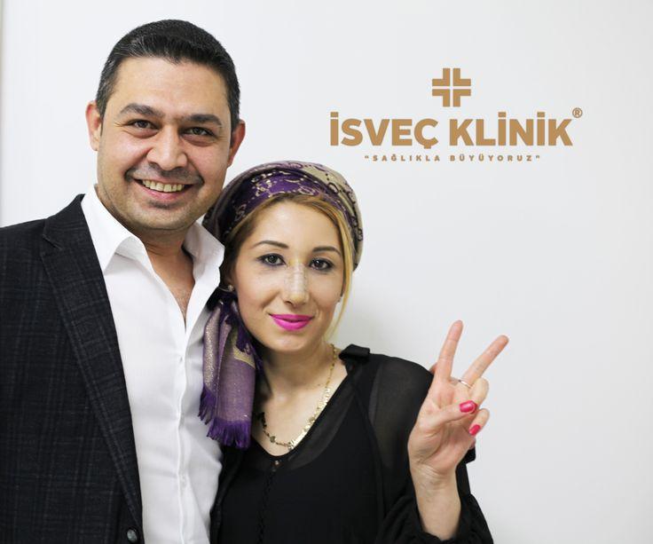 Burun Estetiği ilk Hafta Kontrolümüz devam ediyor #estetik #isveçklinik #sağlık #burunestetiği #estetikburun #burunameliyatı #rinoplasty #istanbul