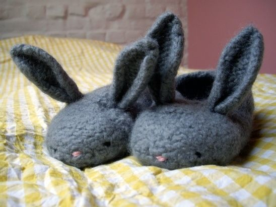 Bunny Slippers   10 Incredibly Cute DIY Projects Inspired By Animals