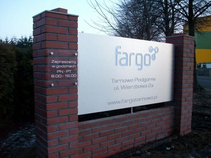 Tablica informacyjna dla FARGO