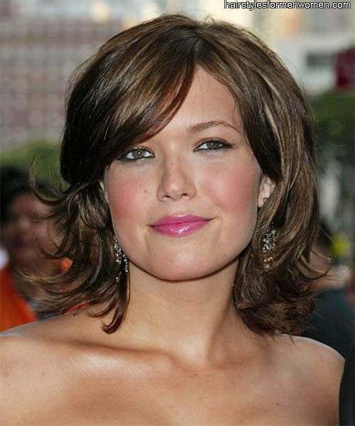 Hairstyles for Thin Hair with Round Face 2