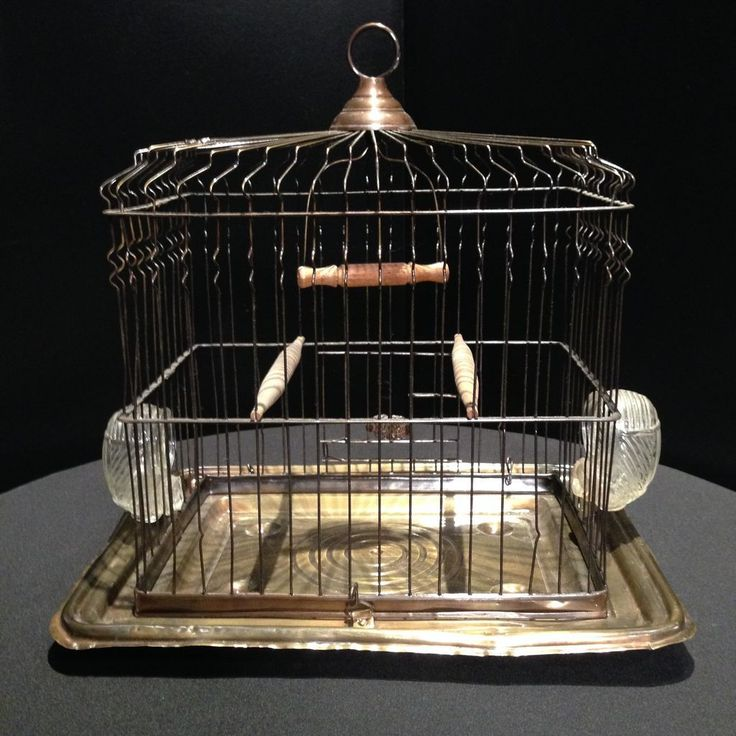 Antique John Maxwell Birdcage early 1900s