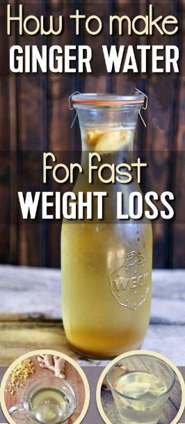 Ginger Water For Weight Loss – The Amazing Drink That Melts Fat Off Your Waist And Boosts Your Immunity