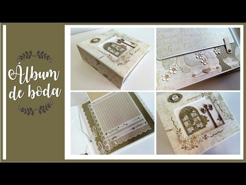 ALBUM DE BODA CLASICO | LLUNA NOVA SCRAP - YouTube