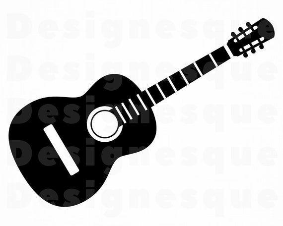 Guitar Svg Guitar Clipart Guitar Files For Cricut Guitar Etsy Guitar Clipart Clip Art Svg