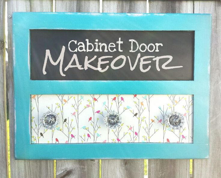 Might Just Have To Keep This One... Upcycled Cabinet Door, Old Cabinet