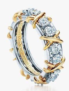 Tiffany 16-Stone Ring