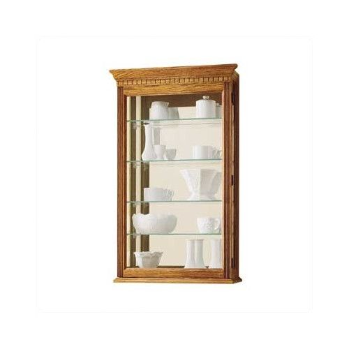 Howard Miller® Montreal Wall Curio Cabinet