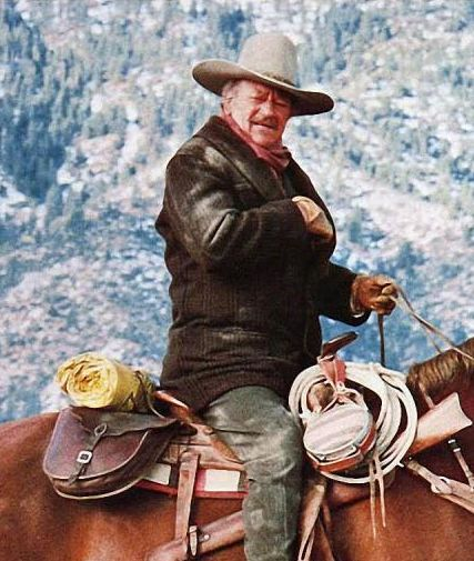 John Wayne's last film was to be The Shootist. Actual figures vary because Wayne did so many obscure films early in his career, but it was around his 175th film. Co-starring Ron Howard and Lauren ...