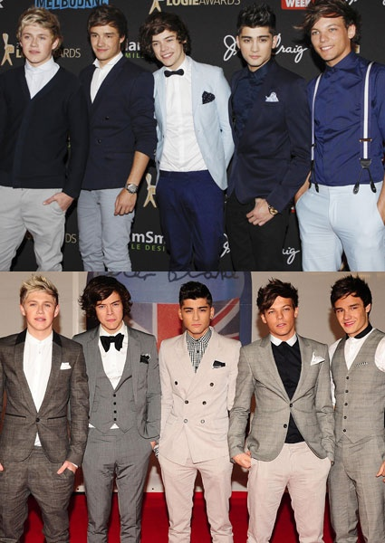 one direction in suits! Just when you thought it couldn't get any better it does!!!
