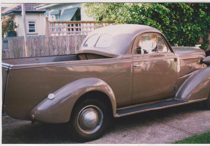 1937 Chev Master Coupe Ute, Original paint & trim.