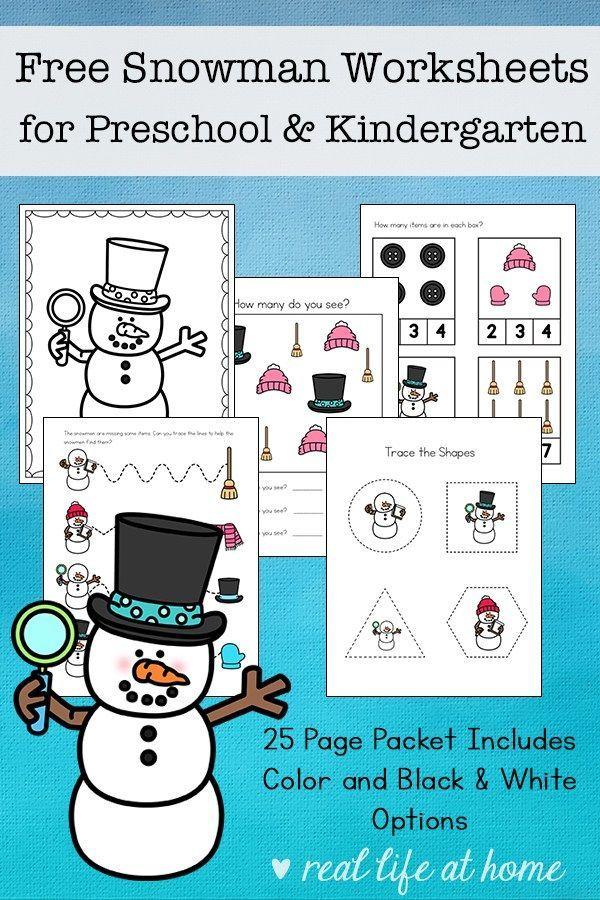 Free Snowman Worksheets For Preschool And Kindergarten Students Snowmen Math Preschool Activities Preschool Snowman sequencing worksheet free