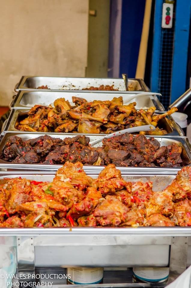 Nigerian Party Food Tray Www.winwithmtee.com In 2019