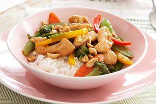Orange Chicken Rice Bowl- So yummy, SO easy! #kraftrecipes