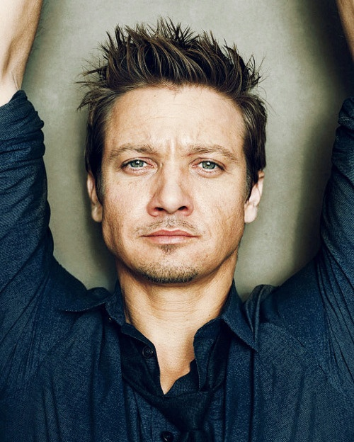 Jeremy Renner - love this actor  Look @Meg Utley  ...your wedding photographer!  Lol.