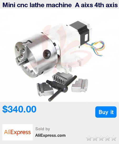 Mini cnc lathe machine  A aixs 4th axis 14-50-100A * Pub Date: 06:34 Oct 23 2017