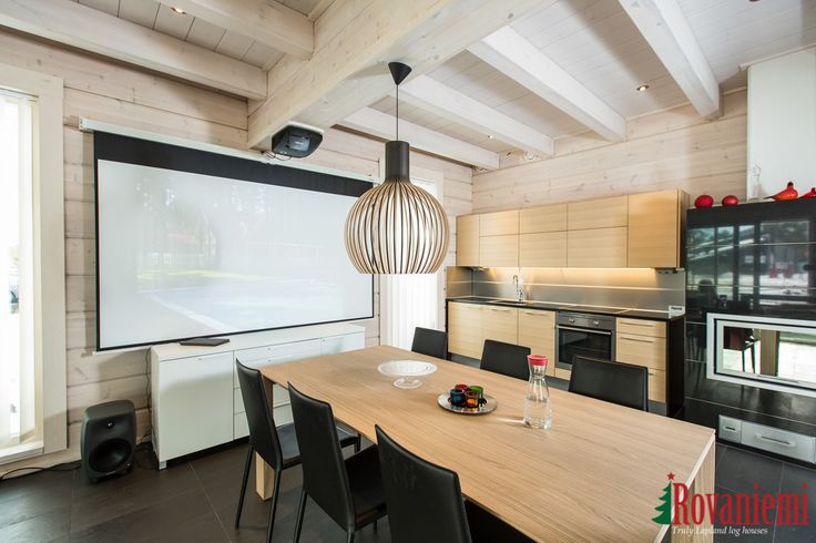 Kieppi – Rovaniemi Log House Head Office. Kitchen.