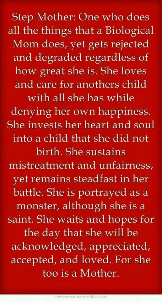 Stepmother Quotes Inspiration 38 Best Momma 2.0 Images On Pinterest  Families Quote And My Love