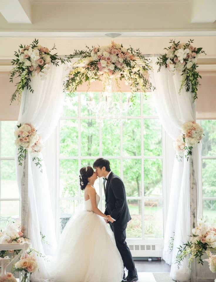 kitchen on a budget cabinet photos best ever tulle wedding arch to says romantic vows ...