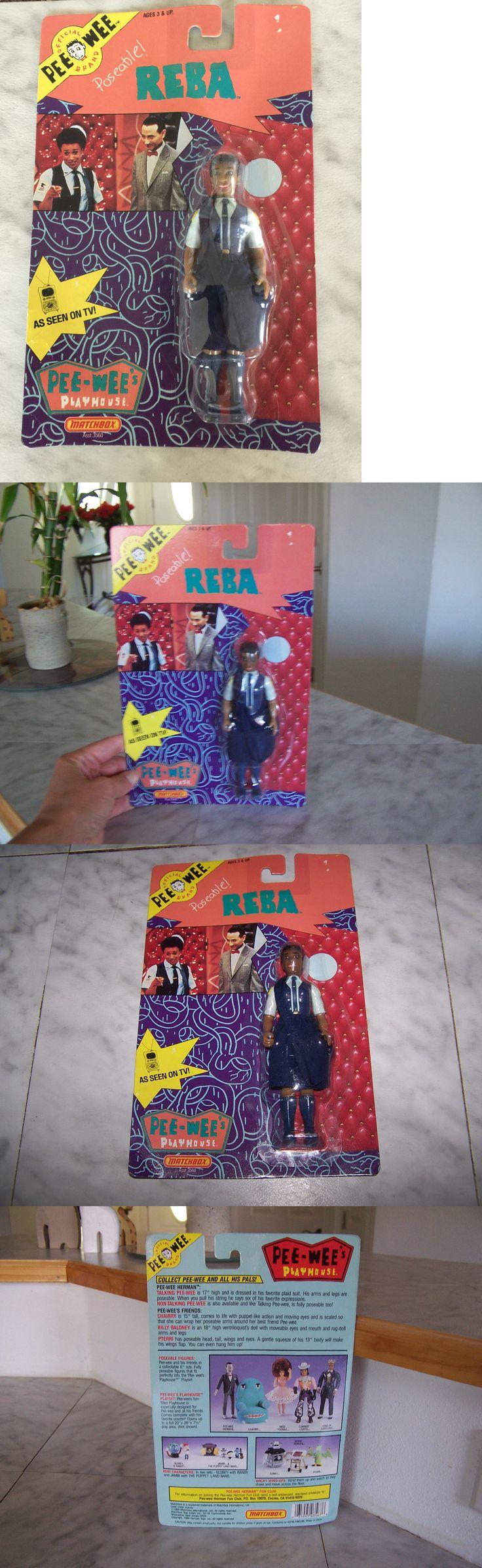 Pee-Wee Herman 20917: 1988 Pee Wee Playhouse Poseable Reba Matchbox (New) -> BUY IT NOW ONLY: $49.99 on eBay!