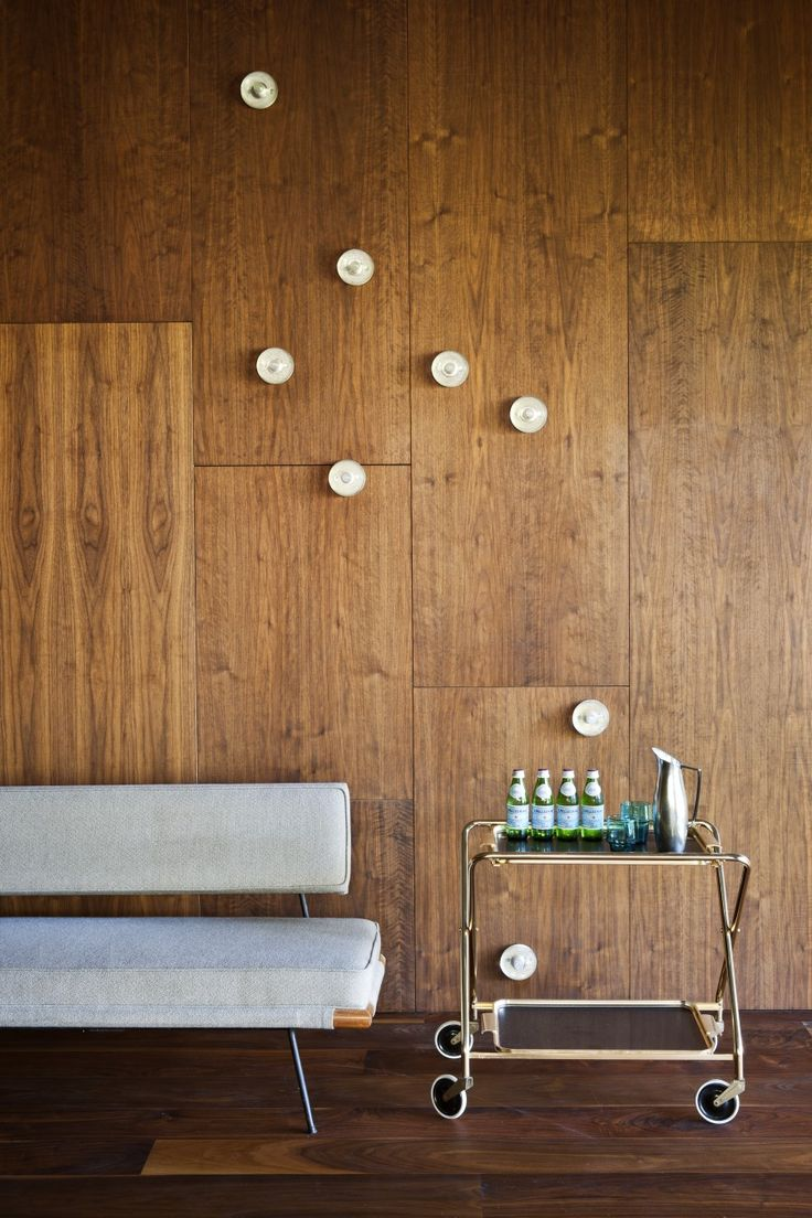 Wall Paneling (with Bocci Sconces)