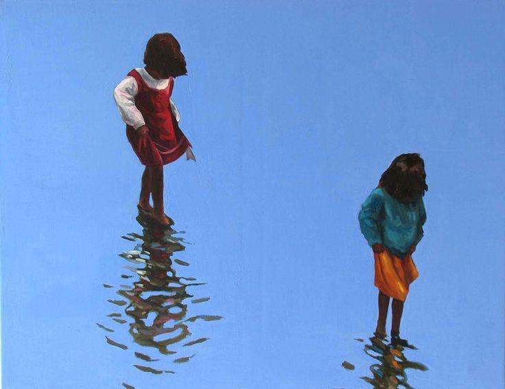 "Saatchi Online Artist: Julita Malinowska; Oil 2007 Painting ""SOLD"""