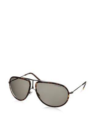 Carrera Men's 15 CAKNR Sunglasses, Tortoise/Ruthenium