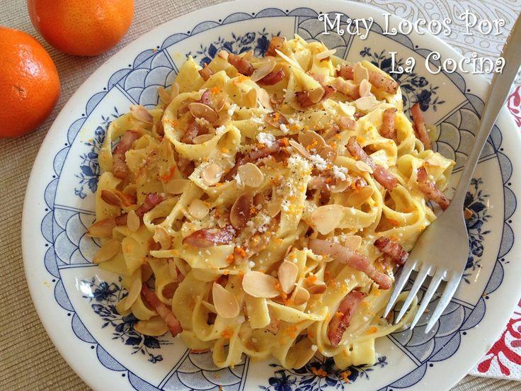 Twittear     Esta es una receta de pasta muy sencilla y rápida, que tiene un resultado muy satisfactorio. El bacon combina ...