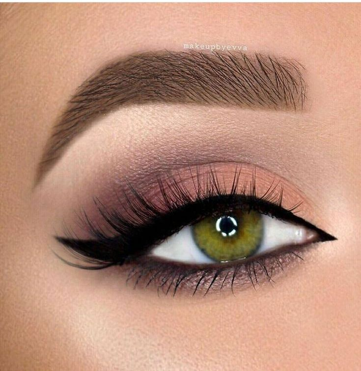 This mixture of colors with a black pen at the waterline, top & bottom, + huge, arched brows, a liquid or cream winged outer edge, highlighted brow bone, and coats of your favorite mascara make the time  spent perfecting this look worth it!  So glad I have green eyes....