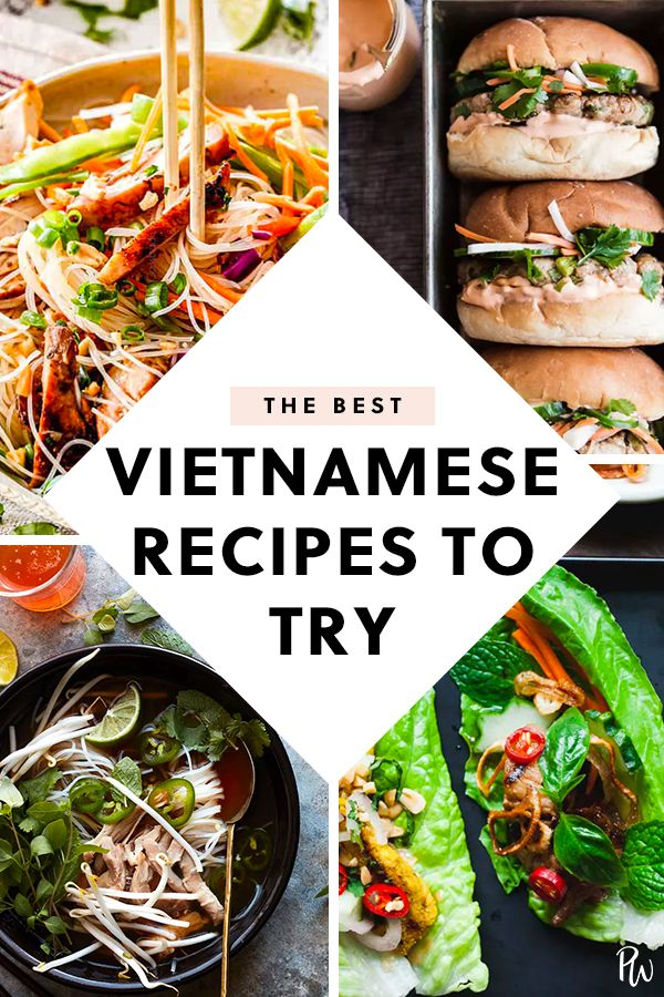 15 Vietnamese Inspired Recipes To Try At Home Easy Asian Recipes Easy Vietnamese Recipes Asian Recipes